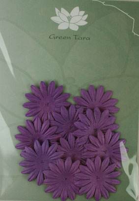 4cm Petals, Purple. Pack of 10