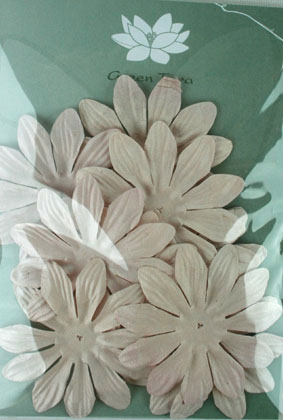 7cm Petals, Taupe Pack of 10