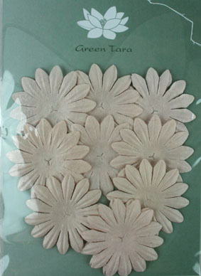 6cm Petals, Taupe Pack of 10