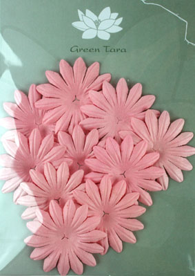 5cm Petals, Pink. Pack of 10