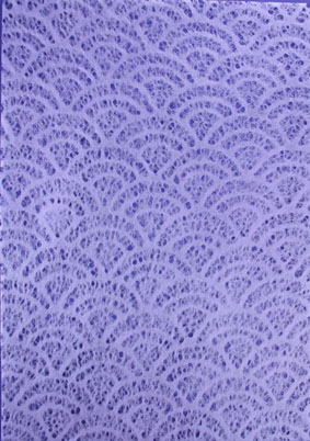 A4 Lace Shell Lavender