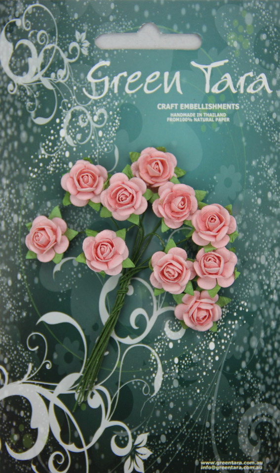 10 Roses 1.5cm Pale Pink