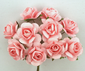 100 Roses 3cm Pale Pink
