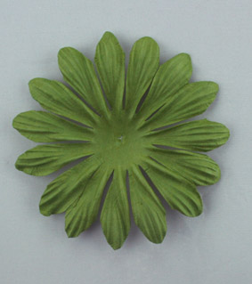 10cm petals. Green Pack of 25.