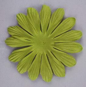 10cm petals. Lime Green Pack of 25.
