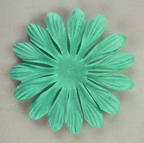 10cm petals. Turquoise Pack of 25.