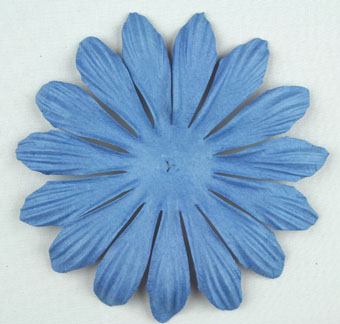 10cm petals. Wedgewood Blue Pack of 25