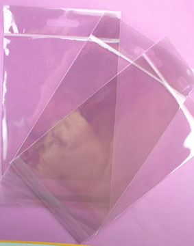 500 Resealable Cellophane Bags 130x147mm