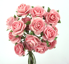 100 Roses 1.5cm Pale Pink