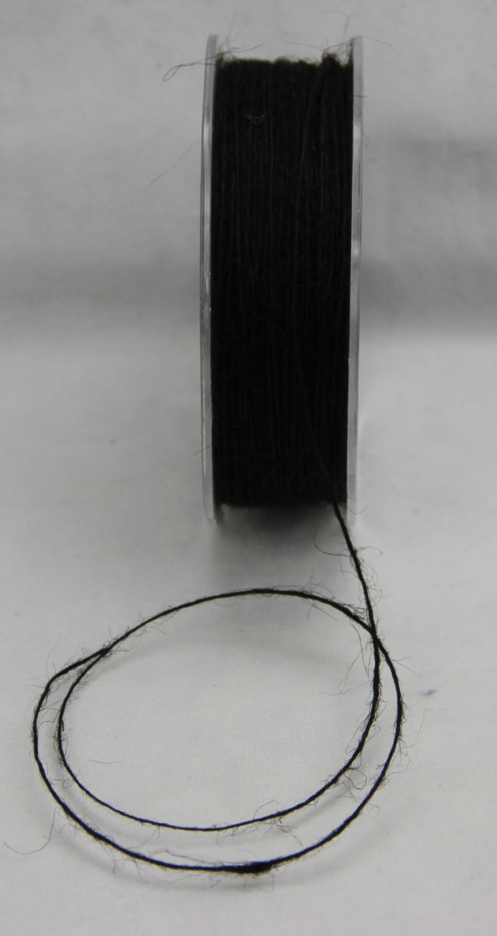 1mm Jute Fibre 200m Black