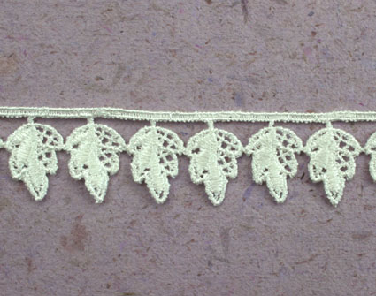 21 Yards Lace, 2.2cm Off White