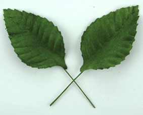 100  Paper Leaves 5cm. Green