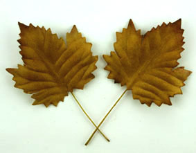 100 Maple Leaves Gold 4.5cm.