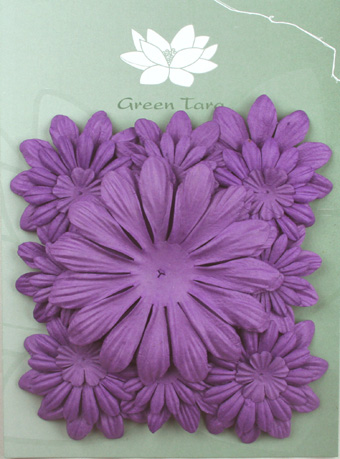 Pack of 22 mixed petals, Purple