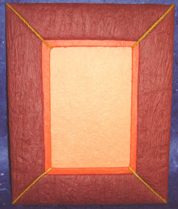 Photo Frame String Maroon