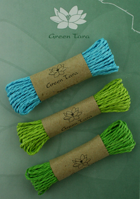 Mixed pack of 3 Paper string Blue