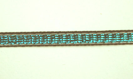 3mm Shimmer ribbon 25m, Turquoise