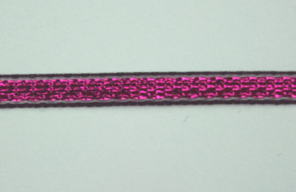 3mm Shimmer ribbon 25m, Fuchsia