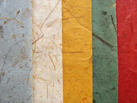 Assorted Banana Fibre Papers