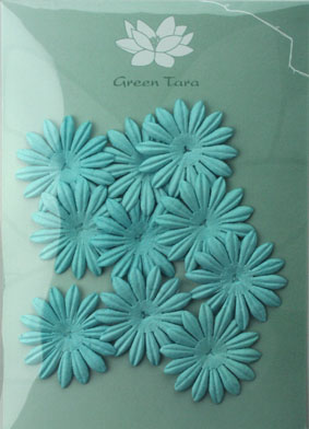 4cm Petals. Sky Blue. Pack of 10