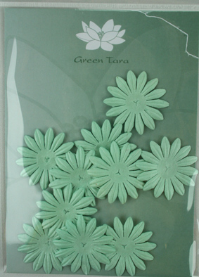 4cm Petals. Baby Blue. Pack of 10