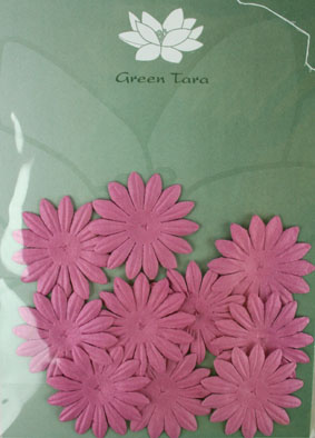 4cm Petals. Dusky Pink. Pack of 10