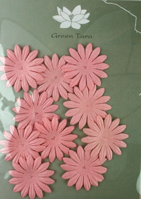 4cm Petals, Pink. Pack of 10