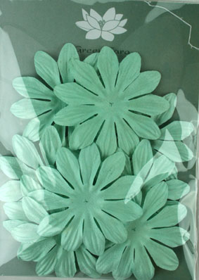 7cm Petals, Baby Blue Pack of 10