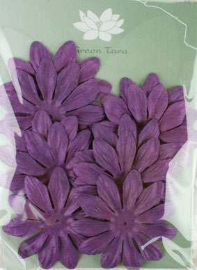 7cm Petals, Purple. Pack of 10
