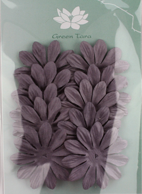 6cm Petals, Aubergine Pack of 10