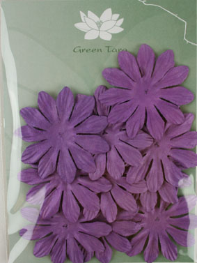 6cm Petals, Purple. Pack of 10