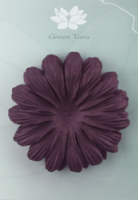 10cm petals. Blackberry Pack of 5.