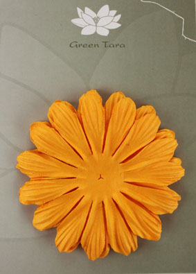 10cm petals. Gold Pack of 5.