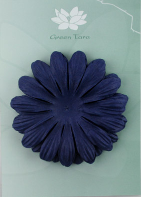 10cm petals. Midnight Blue Pack of 5.