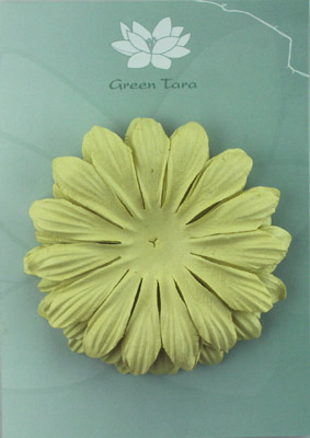 10cm petals. Pale Green Pack of 5.
