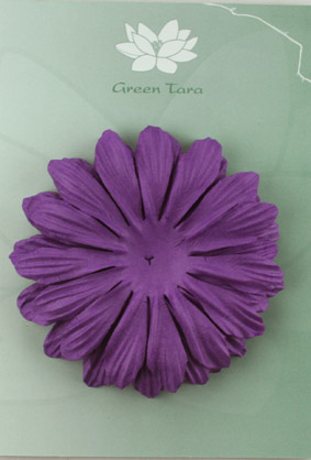 10cm petals. Purple Pack of 5.