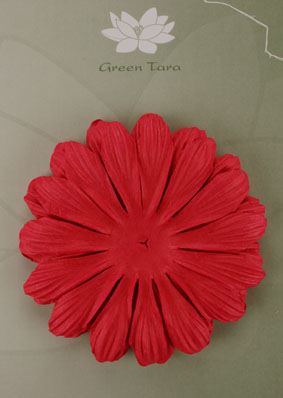 10cm petals. Red Pack of 5.
