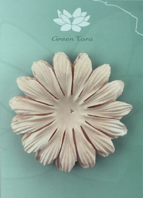 10cm petals. Taupe Pack of 5.