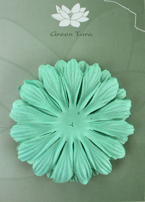 10cm petals. Turquoise Pack of 5.