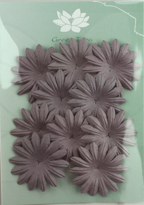 5cm Petals, Aubergine Pack of 10