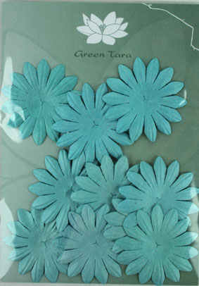 5cm Petals, Sky Blue Pack of 10