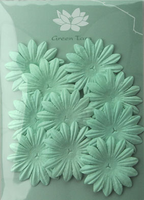 5cm Petals, Baby Blue Pack of 10