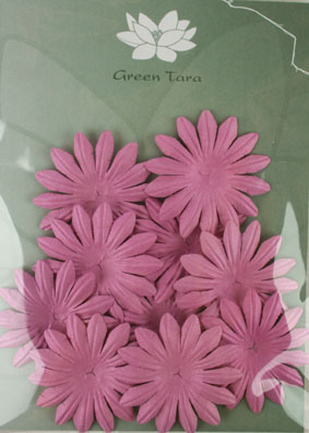 5cm Petals, Dusky Pink. Pack of 10