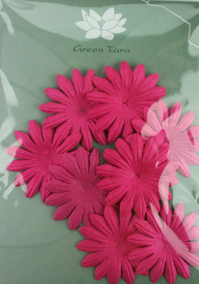5cm Petals, Hot Pink. Pack of 10