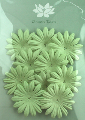 5cm Petals, Mint Pack of 10