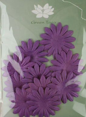 5cm Petals, Purple. Pack of 10