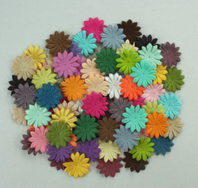 "Entire range of 2cm ""Gerbera"" Petals (45 Colours)"
