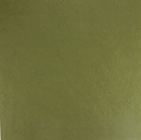 12x12 Handmade Mulberry Paper Olive