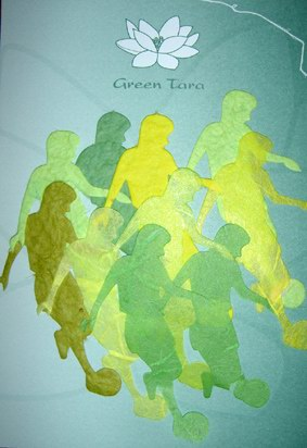 10 Die Cuts Soccer, Green