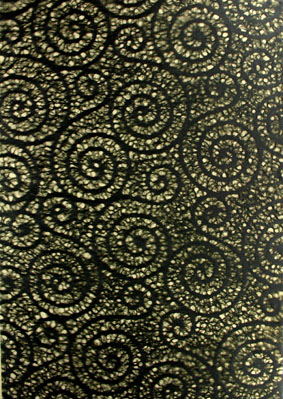 A4 Lace Black Swirls